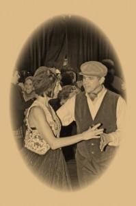 Pascale et Jean Pierre au bal musette